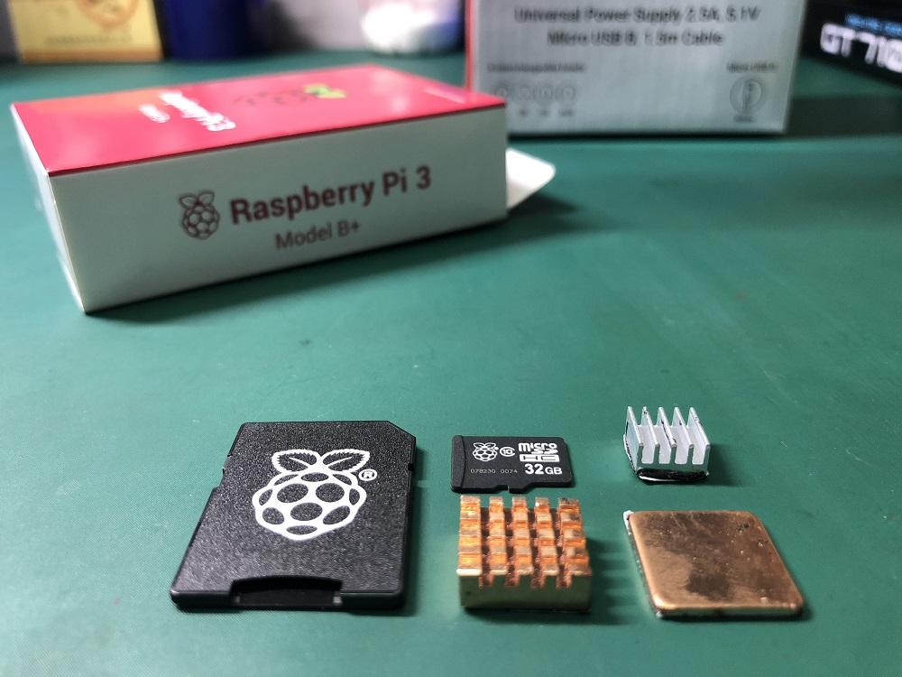树莓派Raspberry Pi 3B+初体验